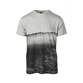 Майка Rip Curl Glassy Day Ss Tee, neutral grey
