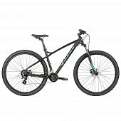 Велосипед Haro Double Peak 29 Sport, black/light blue