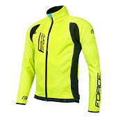 Велокуртка Force X80 light softshell, fluo